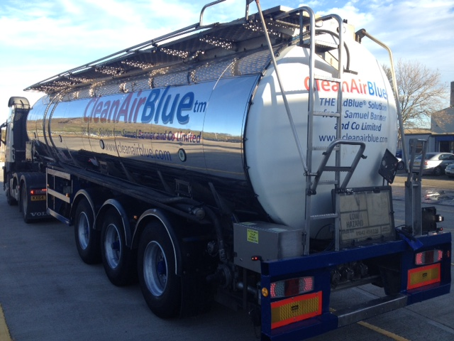 CleanAirBlue Tanker